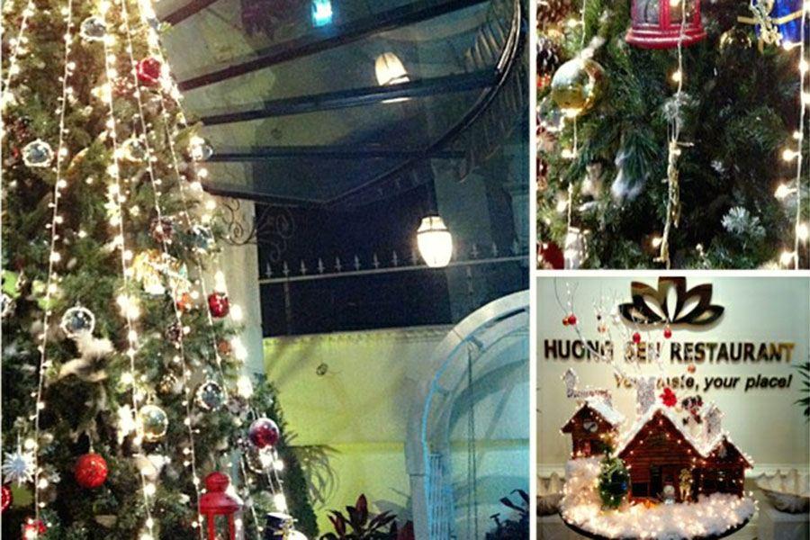 Noel tại nhà hàng Hương Sen