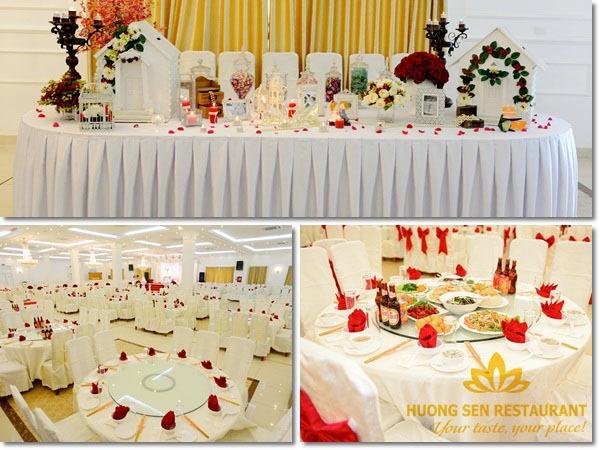 Dịch vụ đặt tiệc cưới trọn gói tại Hà Nội
