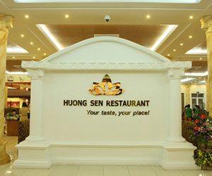 thực đơn buffet Hương Sen