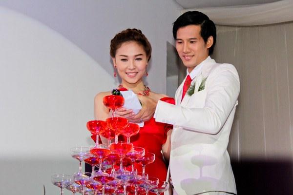 đám cưới sang trọng lộng lẫy