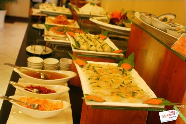 bữa tiệc buffet ngon