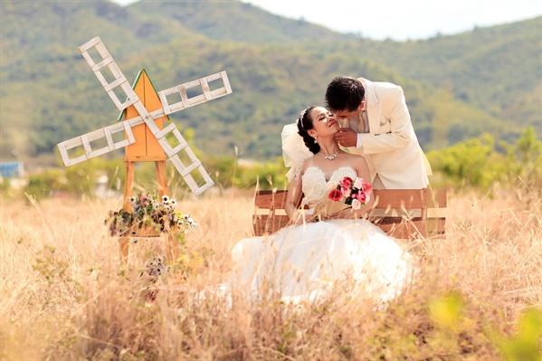 cô dâu hạnh phúc nhất