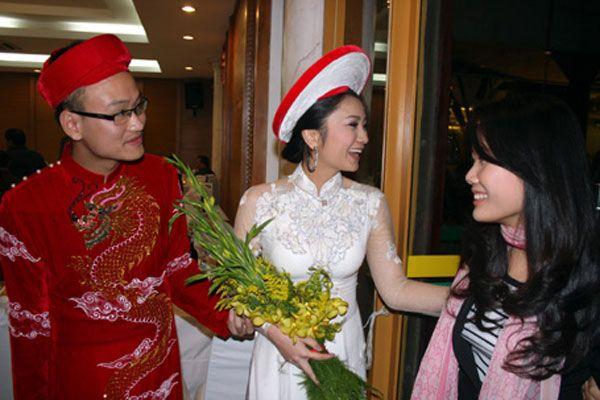 áo cưới dài