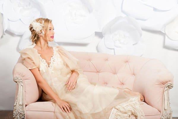 khăn voan mỏng cho cô dâu