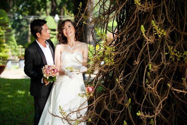 tổ chức lễ cưới tại gia