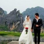 màu sắc của đám cưới