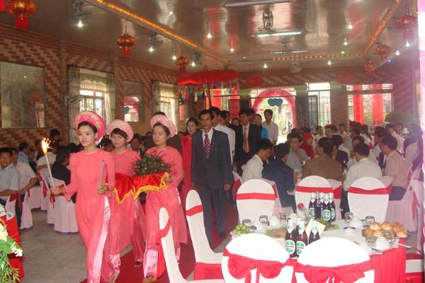 nghi lễ thành hôn của giới trẻ