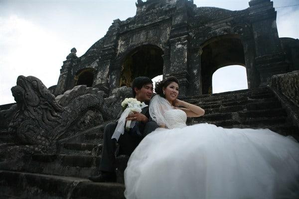 nghi thức lễ cưới lớn