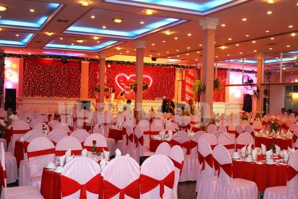 các nhà hàng tổ chức lễ cưới
