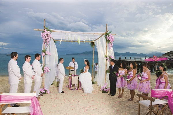 quá trình chuẩn bị cưới