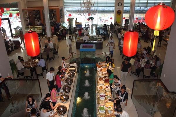 văn hóa dự tiệc buffet