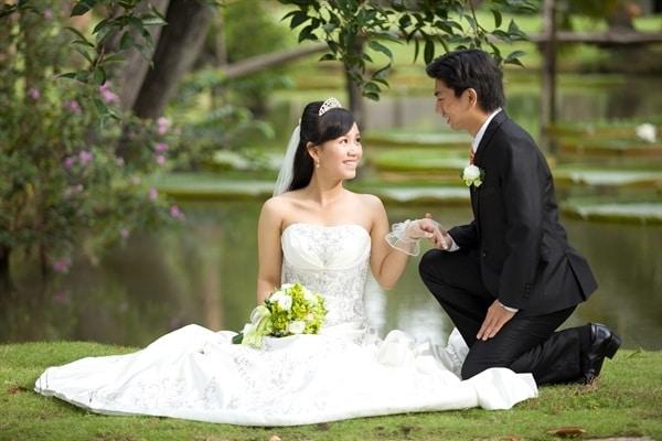tiệc cưới giản dị nhất