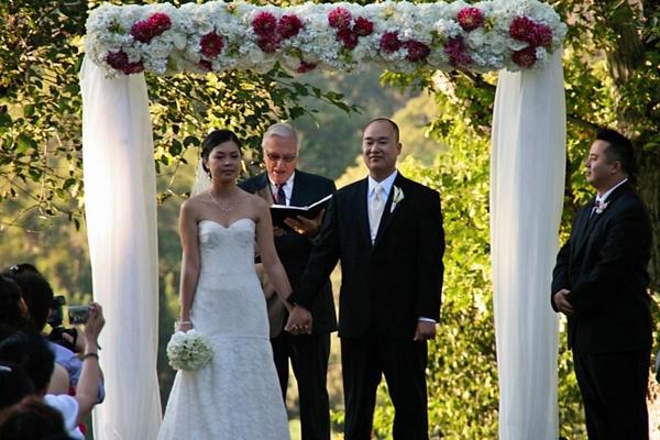 trang trí cho hoa cưới