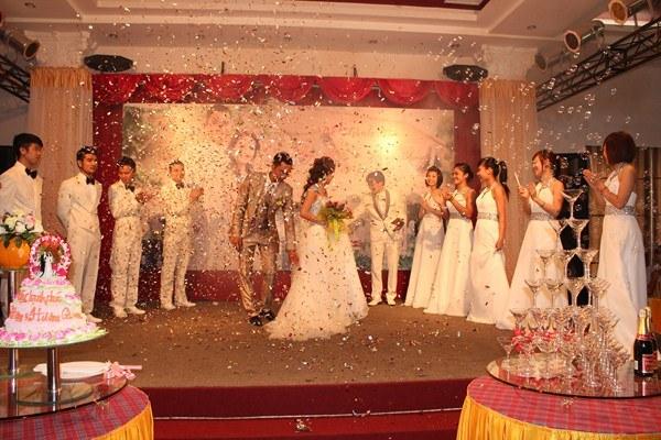 trang trí lễ cưới hoành tráng