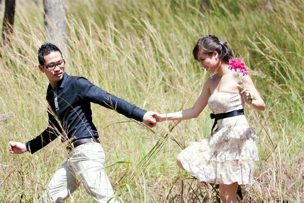đám cưới giản dị