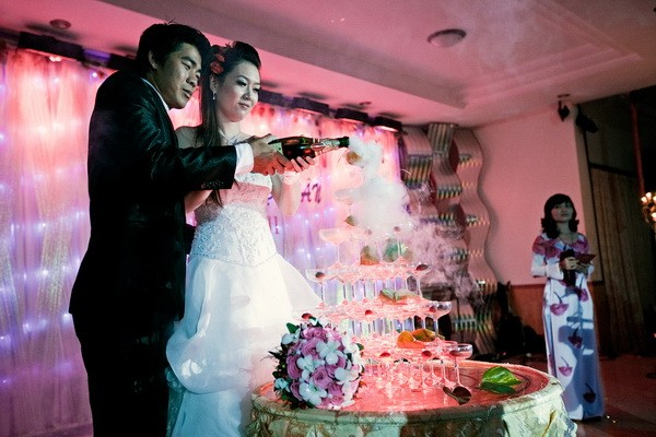 đám cưới đẹp như phim