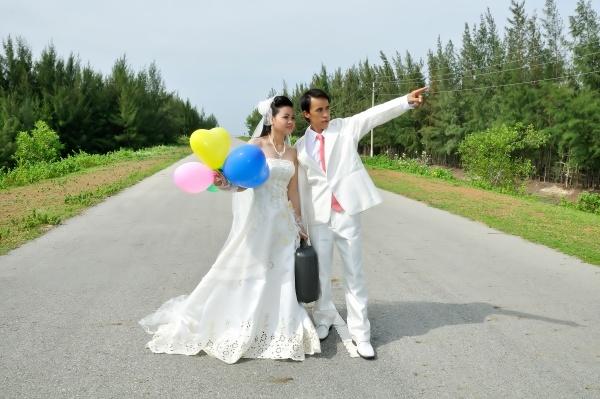 đám cưới hoàn thiện