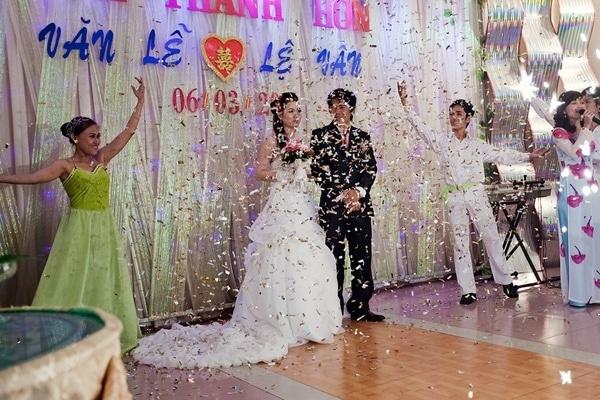 tiệc cưới ấn tượng