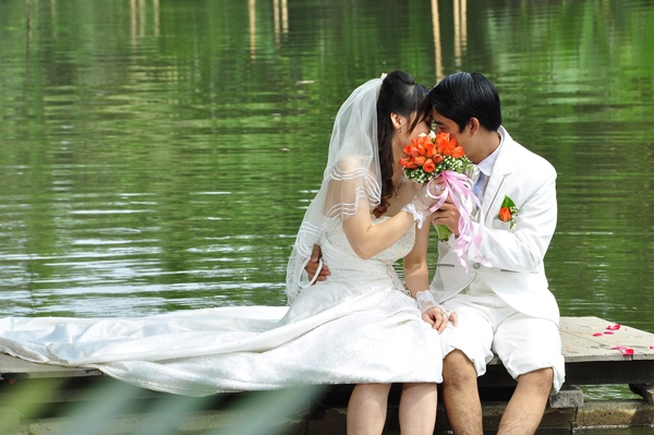 màu cưới
