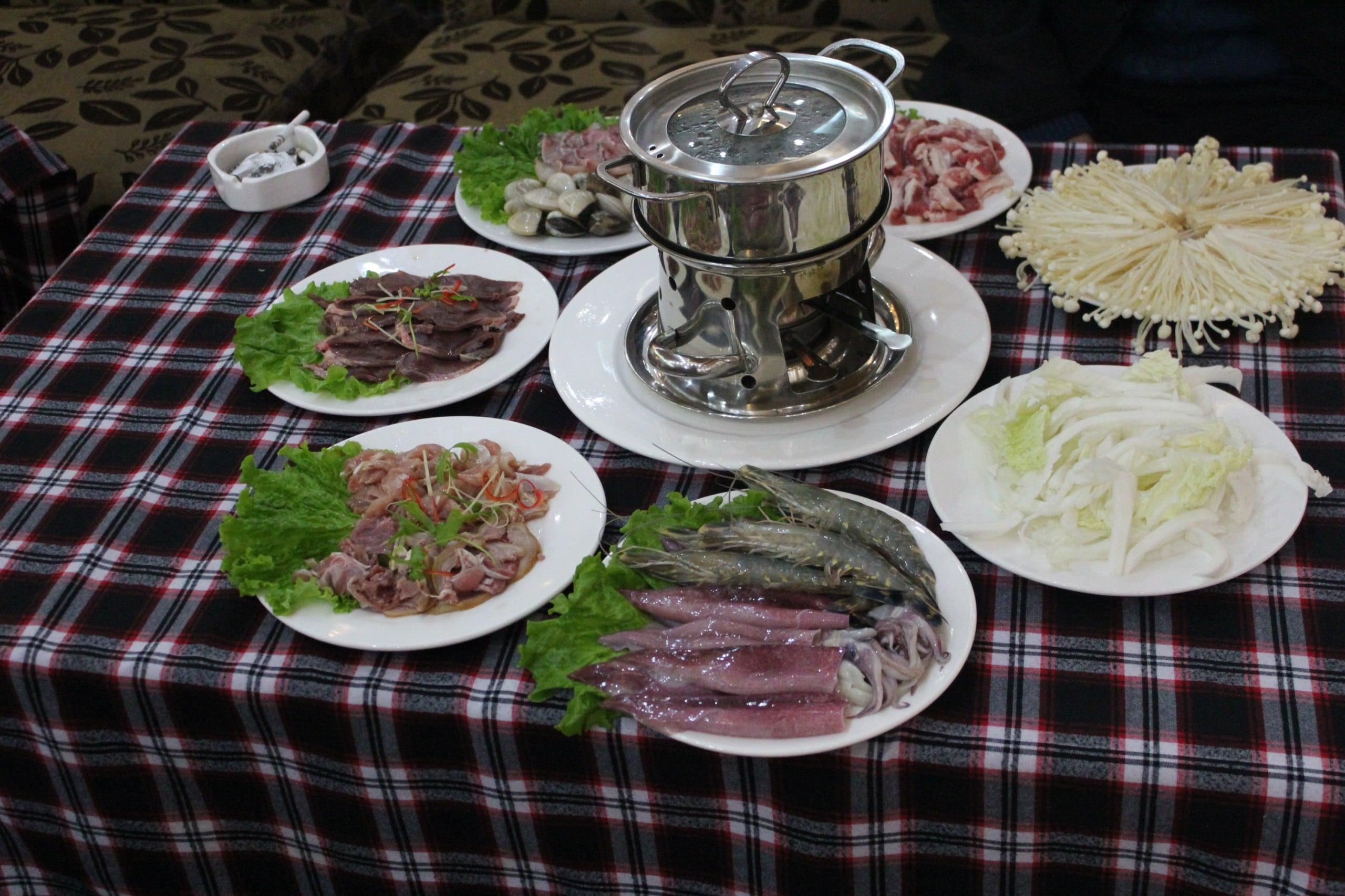 lẩu hải sản bổ dưỡng