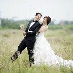 váy cưới - nhà hàng hương sen