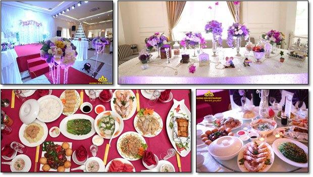 dịch vụ đặt tiệc cưới