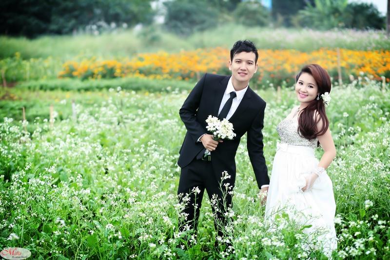 váy cô dâu - Hương Sen