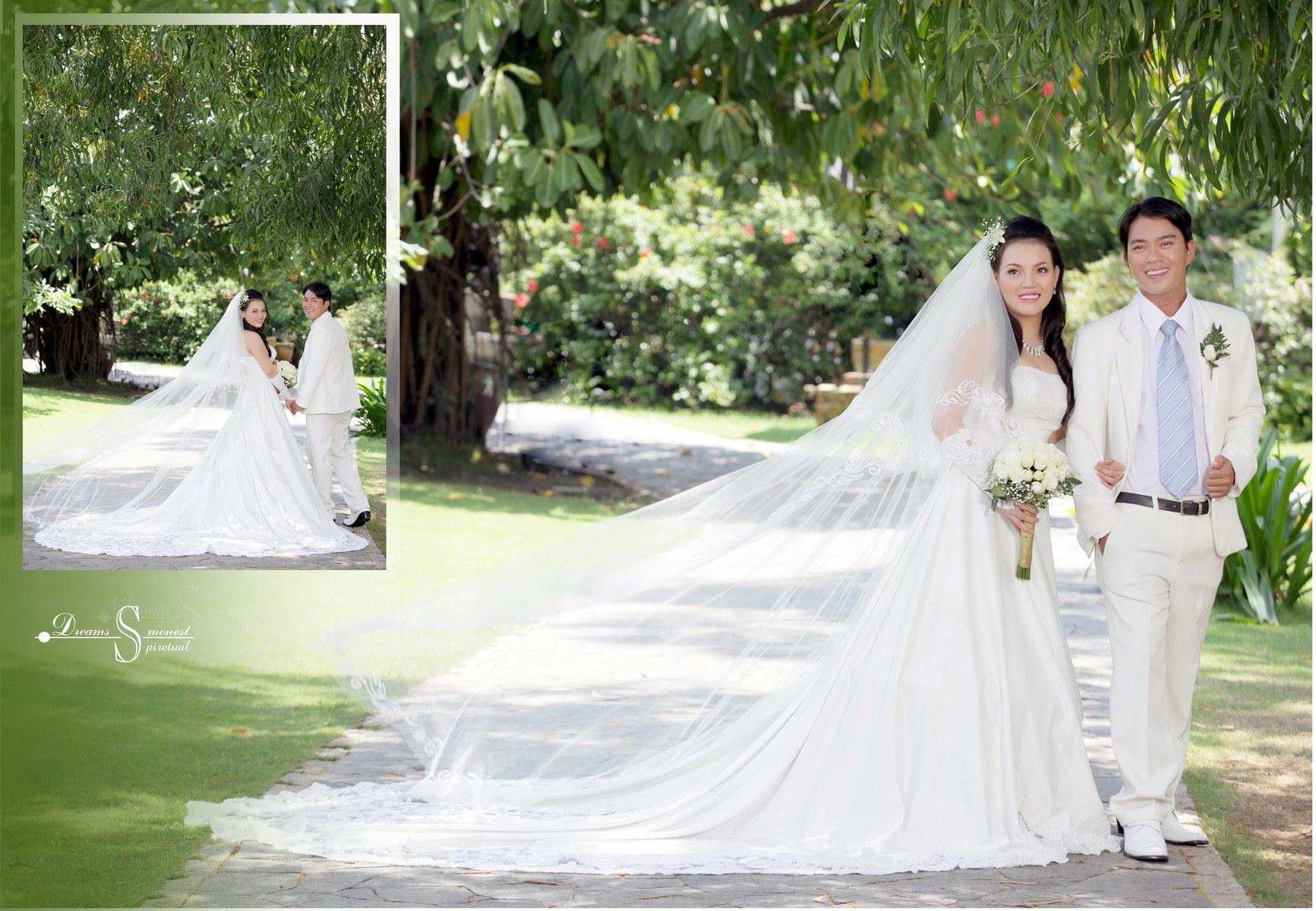 ảnh cưới - nhà hàng Hương Sen