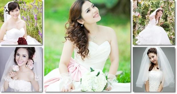cô dâu trong ngày cưới