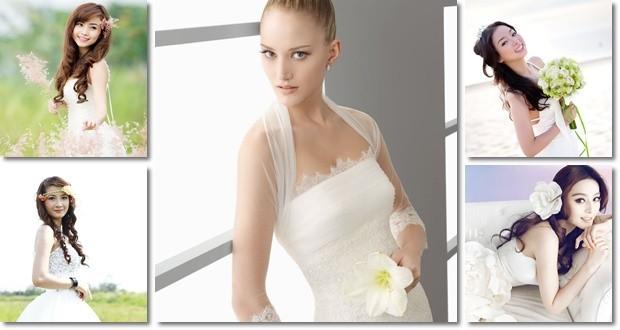 cô dâu xinh đẹp - tiệc cưới Hương Sen