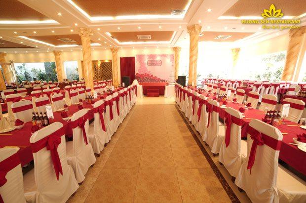 địa điểm tổ chức đám cưới Hương Sen