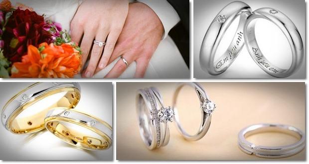 nhẫn cưới phong cách