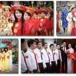 Làm mới nghi thức trong lễ cưới truyền thống để đám cưới trở nên ấn tượng hơn