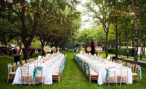 Trang trí đám cưới đẹp với chi phí tối thiểu