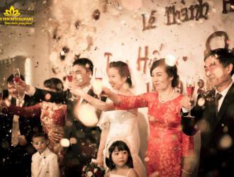 Đám cưới hạnh phúc tại nhà hàng Hương Sen