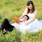Cách ứng xử khéo léo của cặp uyên ương trong ngày cưới