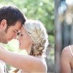 cô dâu với mái tóc tết