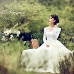 Trang phục cưới mùa đông phù hợp cho cô dâu