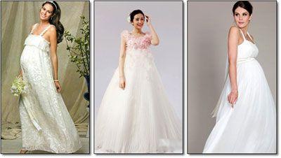 váy cưới bà bầu