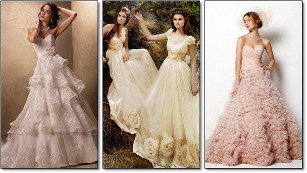 váy cưới phù hợp làn da