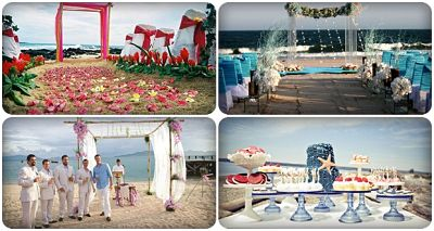 đám cưới biển ấn tượng