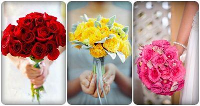 ý nghĩa màu sắc hoa cưới