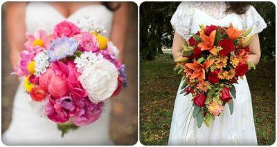 màu sắc hoa cưới