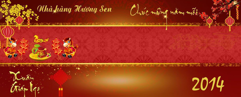 nhà hàng Hương Sen chúc mừng năm mới