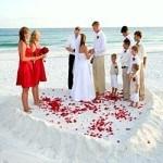 Những gợi ý giúp đám cưới biển ấn tượng hơn trong ngày cưới