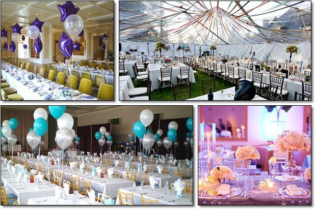 trang trí tiệc cưới ấn tượng
