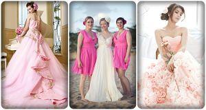 đám cưới màu hồng