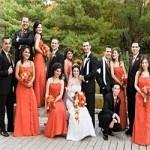 Bí quyết có một đám cưới màu cam ấn tượng nhất ngày cưới
