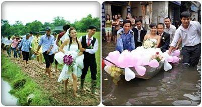 đám cưới mùa mưa