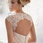 Áo cưới lưng ren đẹp lung linh cho các cô dâu trong ngày cưới